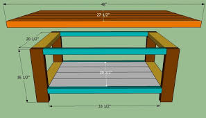 coffee table pdf plans build simple coffee table download how to a