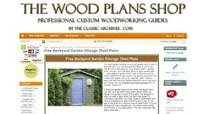 Free Plans How To Build A Wooden Shed by 8 Best Plans On How To Build A Shed Easily