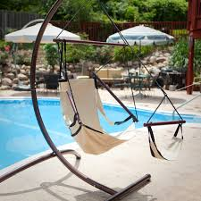 Ez Hang Chair Stand by The Ultimate Hanging Chair Hayneedle