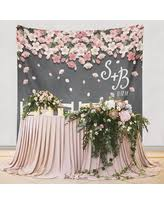 Paper Flower Backdrop Decoration Wedding Decor Engagement Decorations Bridal Shower
