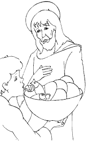 Childrens Coloring Pages Of Jesus Free Printable For Kids Picture