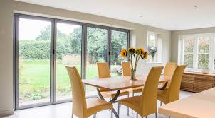 Solarlux SL 60e Bi Folding Doors Halo Flush Double Glazed UPVC Windows And Apeer Composite Front Door West End Surrey
