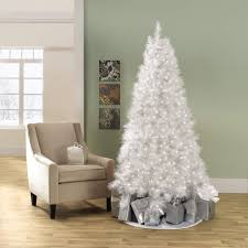 7 Ft Slim Christmas Tree by 7 Foot White Christmas Tree Have A White Christmas With Kmart