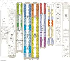 Carnival Valor Deck Plan 2014 by Crystal Serenity Deck Plans Diagrams Pictures Video