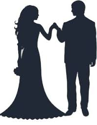 Inspiration Bride And Groom Silhouette Free Clip Art Clipart Wedding Graphics Image Addams