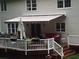 Patio Awnings | Manchester Awnings | Connecticut Outdoor Marvelous Retractable Awning Patio Covers For Decks All About Gutters Deck Awnings Carports Rv Shed Shop Awnings Sun Deck A Co Roof Mount Canopy Diy Home Depot Ideas Lawrahetcom For Your And American Sucreens Decor Cozy With Shade Pergola Design Magnificent Build Pergola On Sloped Shield From The Elements A 12 X 10 Sunsetter Motorized Ers Shading San Jose