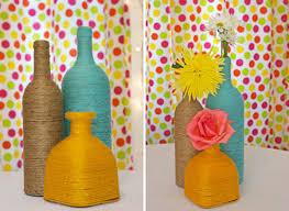 decoration a faire soi meme idées pour un centre de table à faire soi même bouteilles