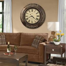 Adorable Modern Dining Room With Big Wall Clock Decoration Myohomes Pictures Decorative Clocks For Living Of Lianglihome