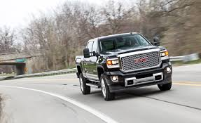 2015 GMC Sierra 2500 HD Denali 4x4 Crew Cab Test | Review | Car And ... Photo Gallery Chevy Gmc 2014 Sierra 1500 All Terrain Used Sierra 4 Door Pickup In Lethbridge Ab L Slt 4wd Crew Cab First Test Motor Trend Suspension Maxx Leveling Kit On Serria Youtube Zone Offroad 65 System 3nc34n 42018 Chevrolet Silverado And Vehicle Review Lifted By Rtxc Winnipeg Mb High Country Denali 62 Heavy Duty Trucks For Sale Ryan Pickups Page 2 The Hull Truth Boating Fishing Forum