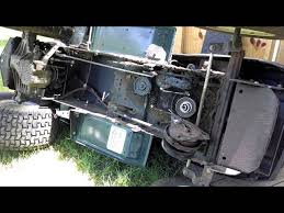 Craftsman Lt1000 Drive Belt Size by Craftsman Lt1000 Lawn Tractor 21hp Mower Briggs U0026 Stratton