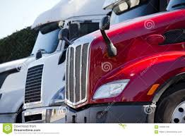 Red And White Big Rig Semi Trucks With Grilles Standing In Line ... Tesla Semi Receives Order Of 30 More Electric Trucks From Walmart Tsi Truck Sales Canada Orders Semi As It Aims To Shed 2019 Volvo Vnl64t740 Sleeper For Sale Missoula Mt Tennessee Highway Patrol Using Hunt Down Xters On Daimlers New Selfdriving Drives Better Than A Person So Its B Automated System Helps Drivers Find Safe Legal Parking Red And White Big Rig Trucks With Grilles Standing In Line Bumpers Cluding Freightliner Peterbilt Kenworth Kw Rival Nikola Lands Semitruck Deal With King Beers Semitrucks Amazing Drag Racing Youtube
