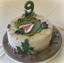 cake kuchen backen fondanttorte fondant torte t rex