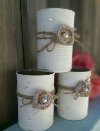 Shabby Chic Wedding Decorations Hire by 25 Unique Tin Can Centerpieces Ideas On Pinterest Diy Christmas