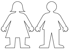 Free Coloring Pages Of Kid Body Outline