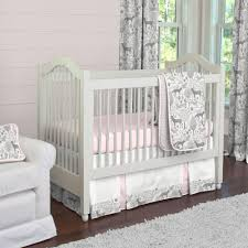 Woodland Themed Nursery Bedding by Baby Bedding Sets Pink And Grey Baby Crib Design Inspiration