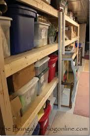 how to make a basement storage shelf basement pinterest