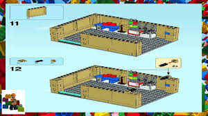 100 Simpsons House Plan LEGO Instructions The 71006 The Book 1