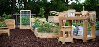 Gronomics Raised Garden Bed by Ready Made Raised Bed Garden Kits For Organic Gardeners Green