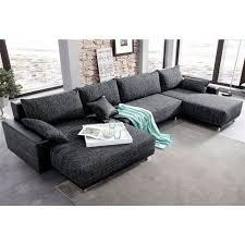 canapé panoramique tissu canapé panoramique xl convertible en imitation cuir qualité luxe et
