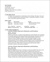 Download Our Sample Of Molecular Biology Resume Ideas Samples