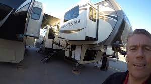 Fifth Wheel Campers With Front Living Rooms by 2017 Keystone Montana 3730fl Six Slide Front Living Room Fifth