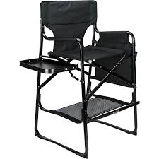 VER Beauty Black Tall Aluminum Director Chair With Table Tray And Pockets  Storage VCH002 Pnic Time Red Alinum Folding Camping Chair At Lowescom Extra Large Directors Tan Best Choice Products Zero Gravity Recliner Lounge W Canopy Shade And Cup Holder Tray Gray Timber Ridge 2pack Slimfold Beach Tuscanypro Hot Rod Editiontall Heavy Duty Director Side Tray29 Seat Height West Elm Metal Butler Stand Polished Nickel Replacement Drink For Chairs By Your Table Sports Hercules Series 1000 Lb Capacity White Resin With Vinyl Padded