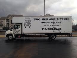 100 Two Men And A Truck Atlanta Tulsa Broken Rrow OK Movers