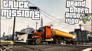 100 Rmds Trucking GTA 5 PC Truck Driver Mod Missions Grand Theft Auto V YouTube