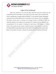 Strategic Management Assignment Sample