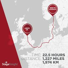 100 Truck Route Sign Most Popular Event Transport Routes Of Europe Stagefreight