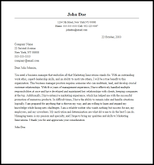 Professional Business Manager Cover Letter Sample & Writing Guide