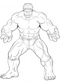 Click To See Printable Version Of Avengers The Hulk Coloring Page