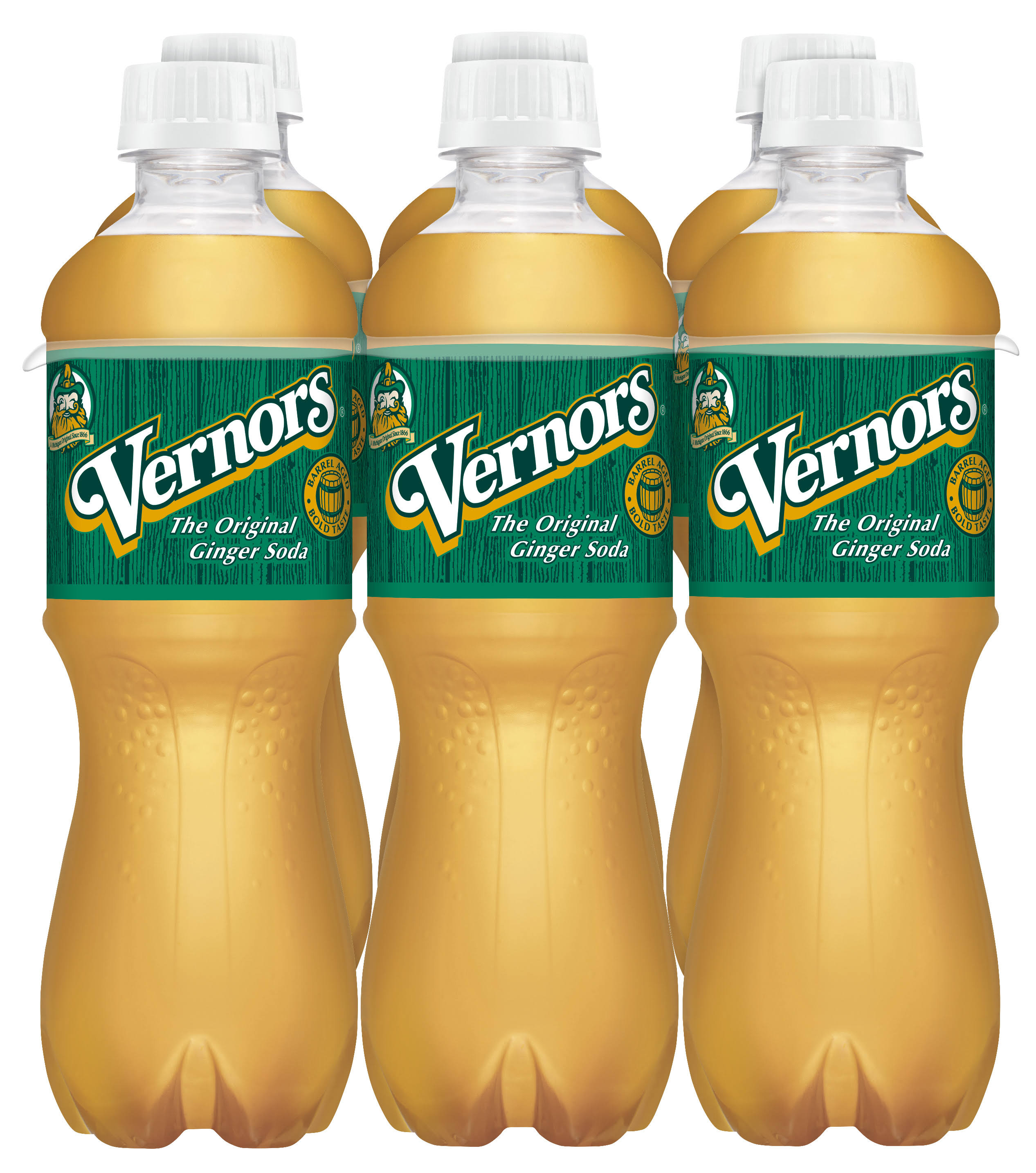 Vernors Ginger Soda - x6