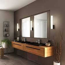 helestra loom led spiegelleuchte schwarz 30 cm