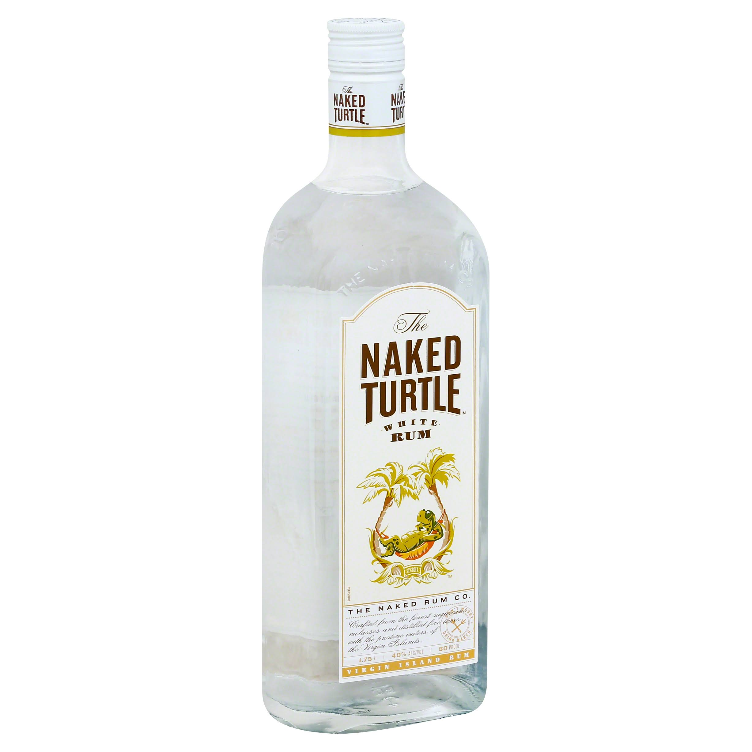 Naked Turtle Rum, White - 1.75 lt