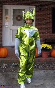 Homemade Alien Costume for Boys