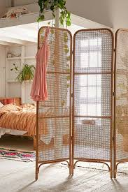 Furniture Marvelous Rattan Room Divider Marvellous Wicker Pertaining To Screens Dividers