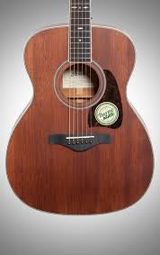 Ibanez AVC10MH Artwood Vintage Acoustic Guitar Open Pore Natural Body Straight Front