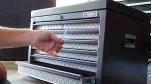 Kobalt Cabinets Vs Gladiator Cabinets by Review Of Gladiator Premier Tool Chest Youtube