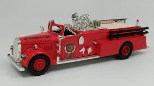 100 Ertl Trucks Ward LaFrance Fire Truck 1955 CAMBRIDGE FIRE DEPT