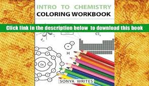 PDF Intro To Chemistry Coloring Workbook Sonya Writes Full Book