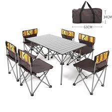 Amazon.com : STYLOWY Portable Folding Camping Table Chairs ... Fold Up Camping Table And Seats Lennov 4ft 12m Folding Rectangular Outdoor Pnic Super Tough With 4 Chairs 120 X 60 70 Cm Blue Metal Stock Photo Edit Camping Table Light Togotbietthuhiduongco Great Camp Chair Foldable Kitchen Portable Grilling Stand Bbq Fniture Op3688 Livzing Multipurpose Adjustable Height High Booster Hot Item Alinum Collapsible Roll Up For Beach Hiking Travel And Fishing Amazoncom Portable Folding Camping Pnic Table Party Outdoor Garden