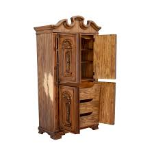 65% OFF - Seaman's Seaman's Carved Wood Armoire / Storage Kincaid Armoire Solid Wood For Sale In Arlington Tx 5miles Buy Amazoncom Jewelry Cabinet Storage Chest Stand Organizer Belham Living Swivel Cheval Mirror Hayneedle South Shore Wardrobe Closet Perfect Bedroom European Drawer Wood 1 Door Sauder Palladia Select Cherry Armoire411843 The Home Depot 4 Solid Tall Narrow Handmade Custom Craft Patch Sad Tale Of The Halffinished Vintage French Painted Wooden At Pamono Century Burlwood Lacquered Midcentury Modern Louis