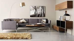 canapé d angle en tissu cuir design contemporain côté maison