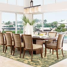 Style Haven Tropical Gardens Blue Indoor Outdoor Area Rug 910 X 1210