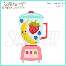 Sanqunetti Design Fruit Smoothie Clipart