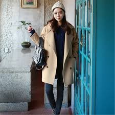 2017 Winter Fashion Street Women Coats Korean Style Warm Ladies Slim Coat