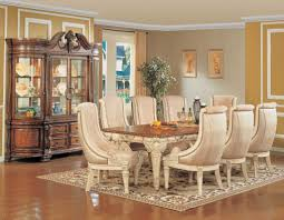 Elegant Formal Dining Room Sets With Strong And Durable Material Unusual Chairs Around Vintage Table
