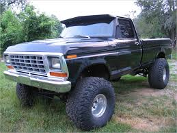 100 Big Jacked Up Trucks Ford New 1973 Ford F100 4x4 EntHill