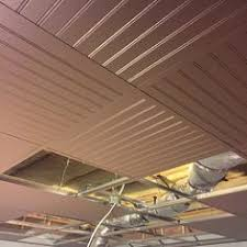how to install a basement beadboard ceiling to replace a drop